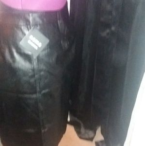 e5e38eb3b9 Nema Avenue Skirts | New Faux Leather Skirt | Poshmark